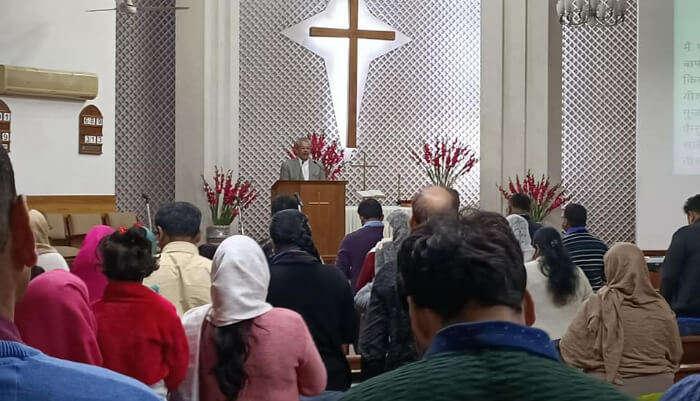 Apostles Methodist Church in Delhi