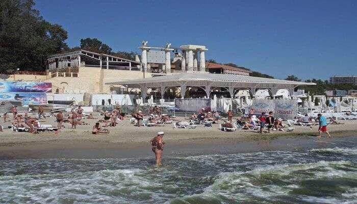 Ukraine's Most Loved Beach