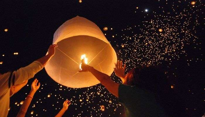 Attend The Lai Krathong Festival