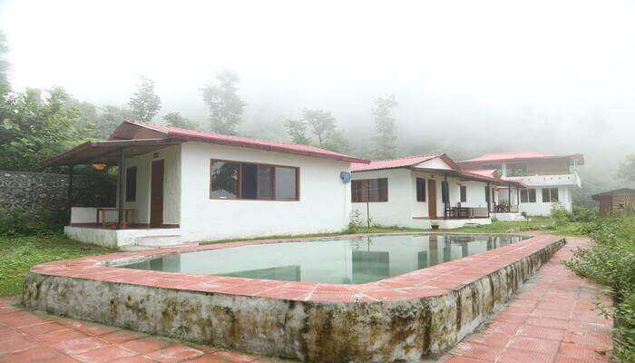Ayuskama resort in Rishikesh