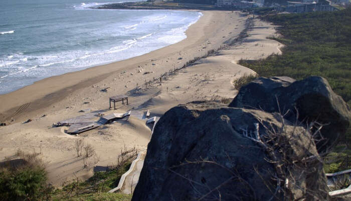 Baishawan Beach is the best place