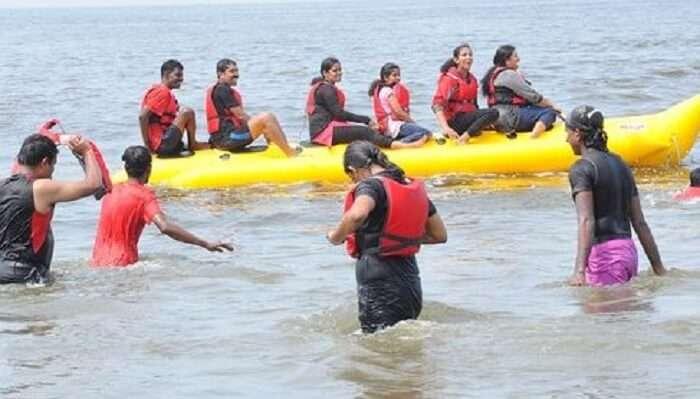 Banana Boat Ride Kochi