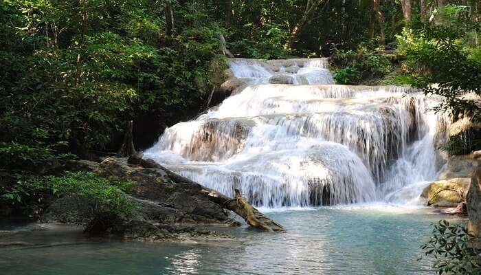 waterfall offers you a superb  view