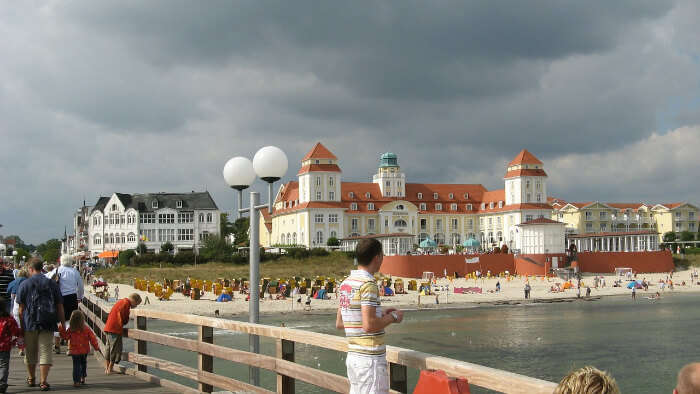 Binz Beach in Germany
