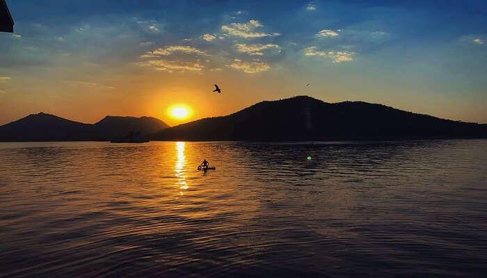 Boating In Fateh Sagar Lake