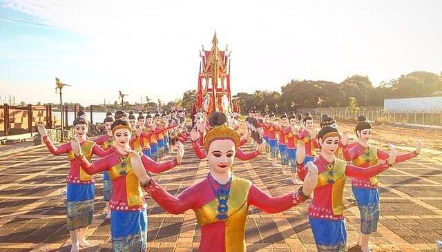 Festival in bangkok, thailand