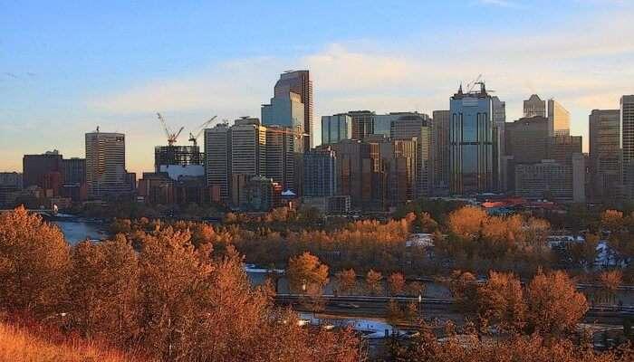 Calgary in Alberta