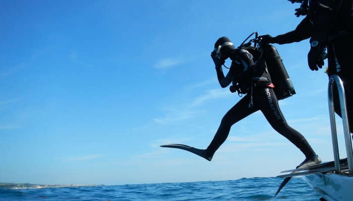 experience dives with utmost security