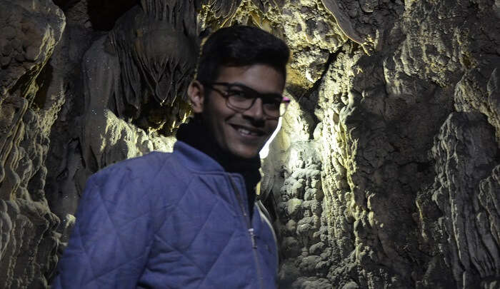 had a great time exploring the caves
