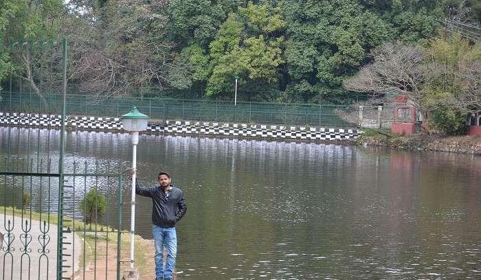 breathtaking beauty of the lake