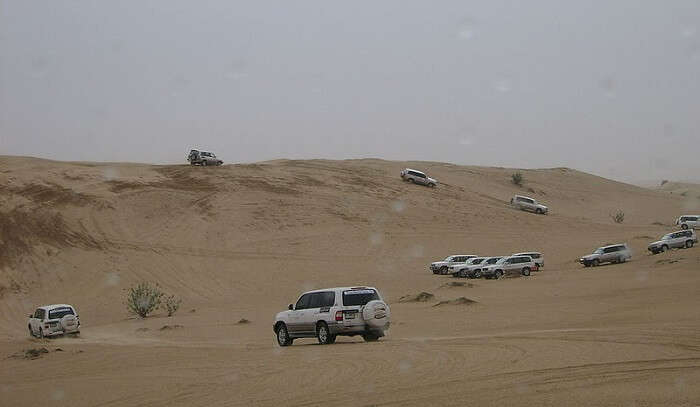 adventure enthusiast must try desert safari