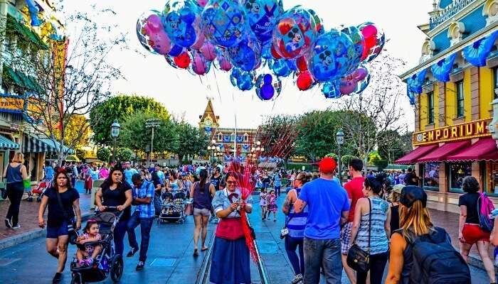 Disneyland is so good place