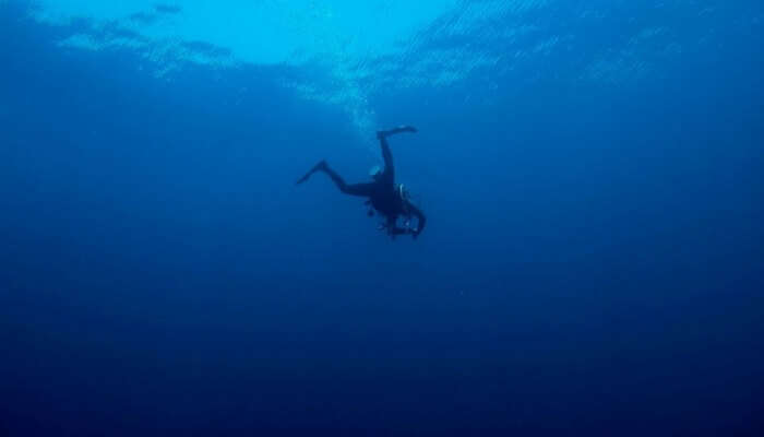 diving in the Andaman Islands