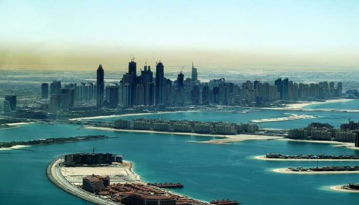 Beautiful view of dubai