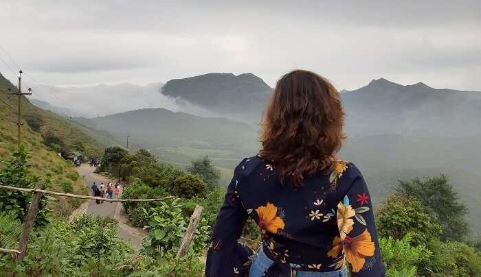 Eravikulam National Park view