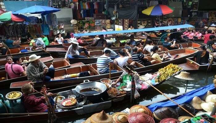 Explore The Floating Markets