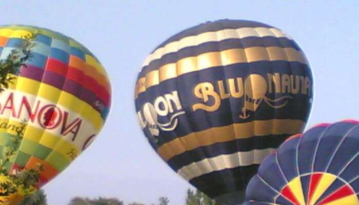 Most important balloon festival in Italy