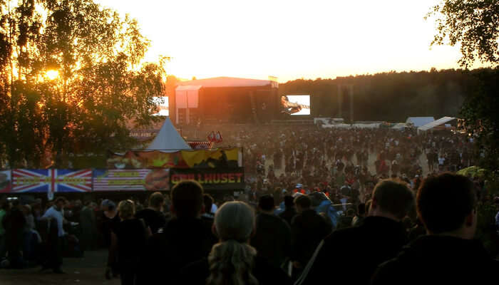 Festival In Sweden In July