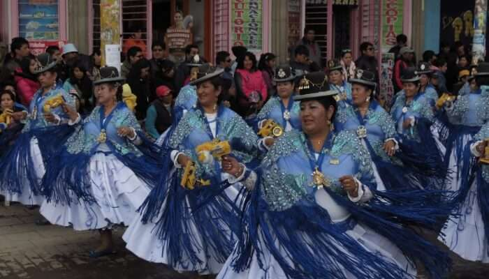 Peru festivals has many religious