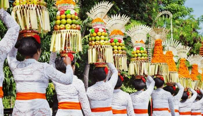 popular annual festival in Bali