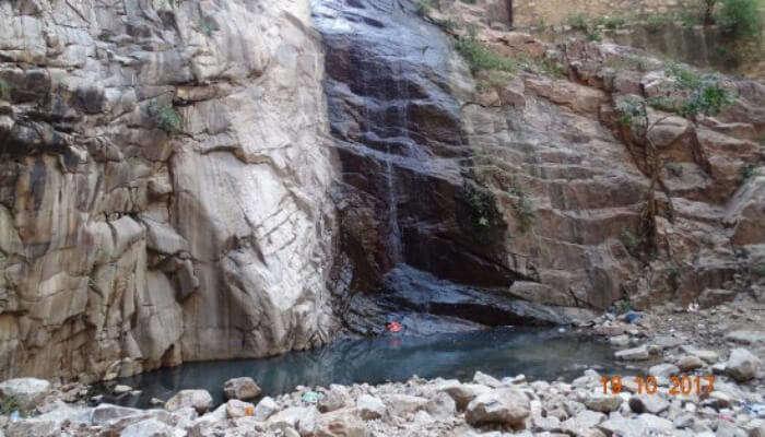 Garbhaji Waterfall View