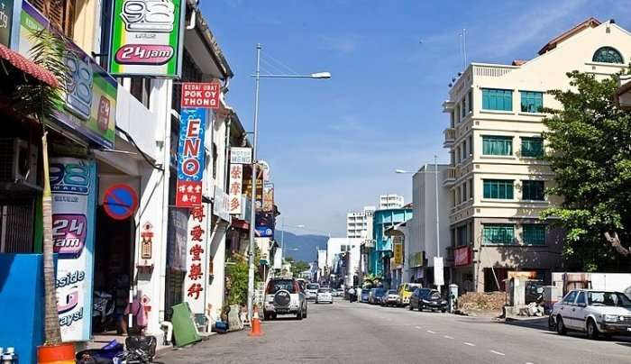 view of george town during afternoon
