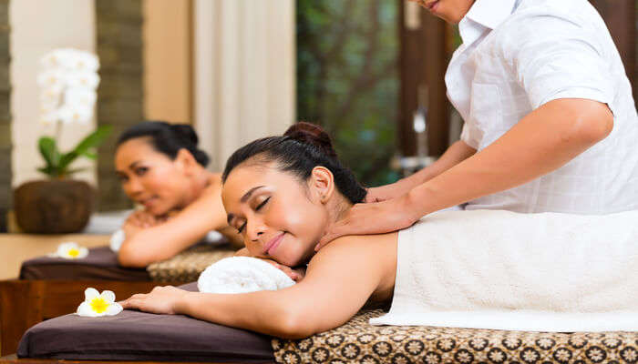 enjoy the spa to rejuvenate yourself