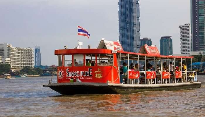 Go Cruising At Chao Phraya River