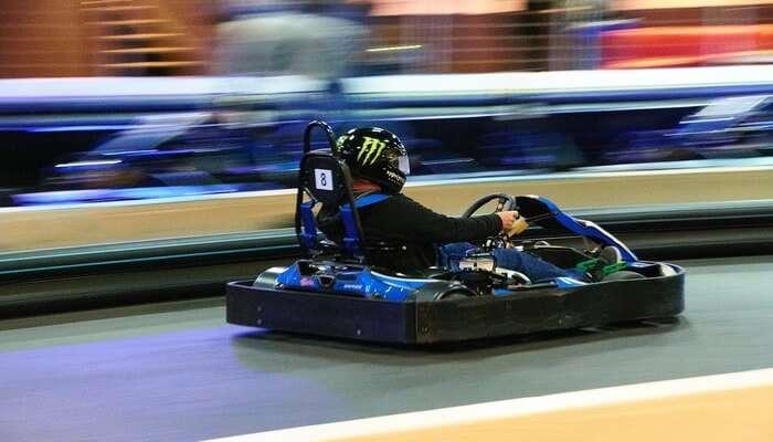 Go Karting at Royal Heritage Mall