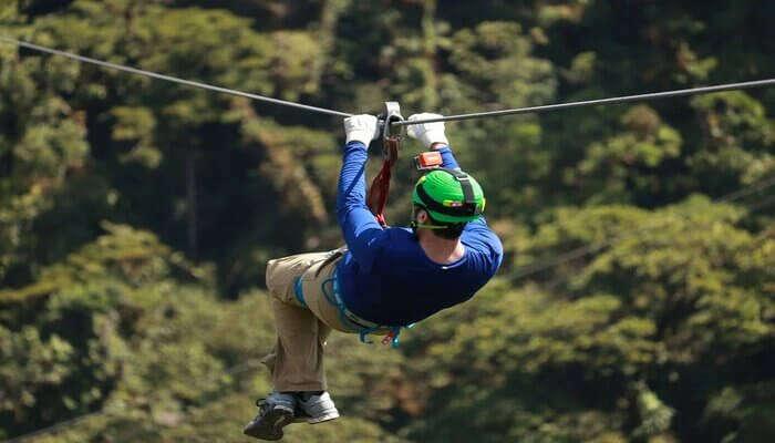 For Ziplining