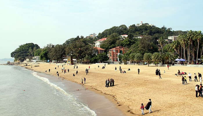 Gulangyu Island Beach Xiamen in China