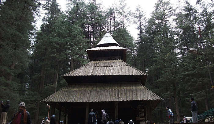 the famous temple in manali