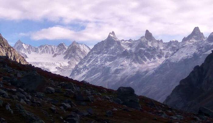 breathtaking mountain view