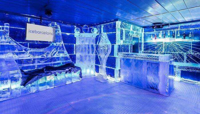Have A Memorable Boozing Experience In The Ice Bar