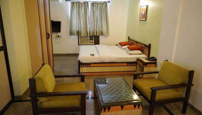 spacious rooms in hotel
