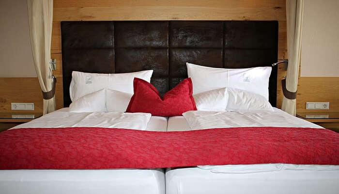 a nice and warm hotel