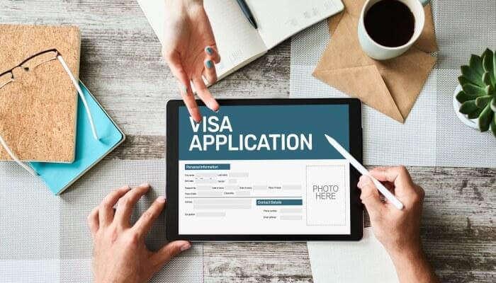 visa apllication