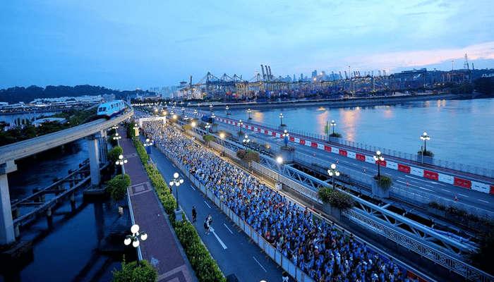 Participation in the tournament for marathon