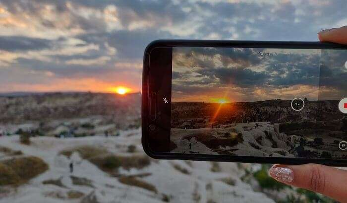 capture the beautiful view