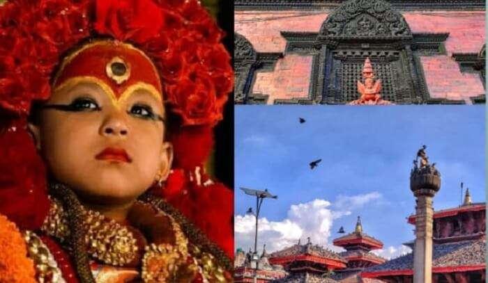 living goddess in Nepal