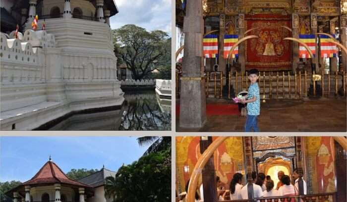 exploring the temples of Sri Lanka