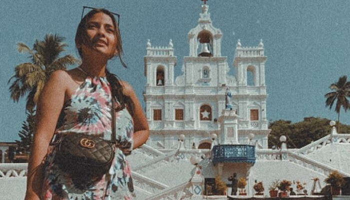went to see some churches in Goa