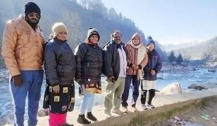 we are at beas river