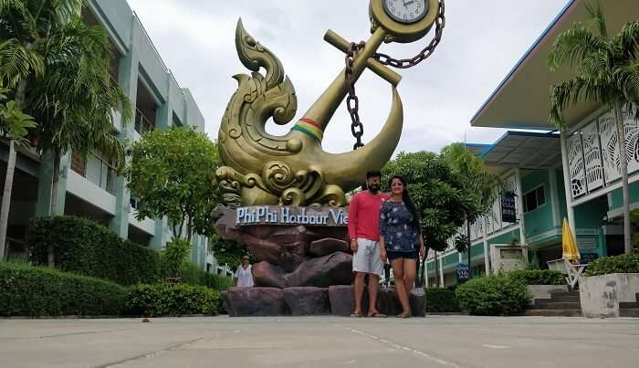 we are at phi phi harbour view