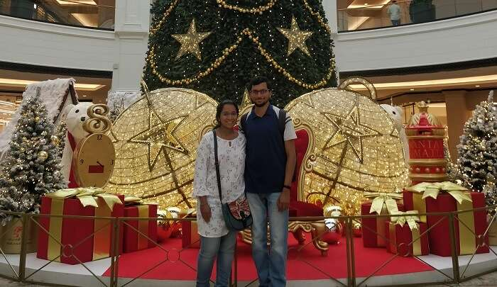 visited to Dubai with partner