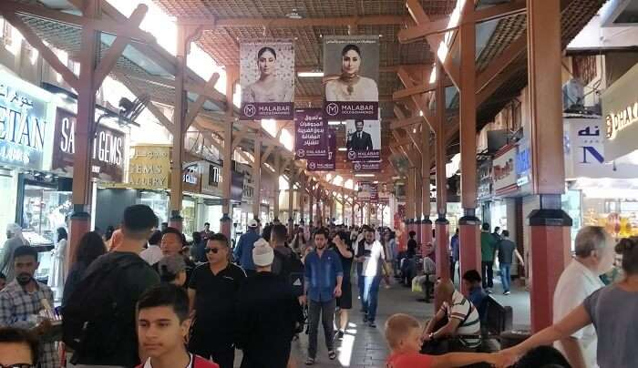 at the gold souq