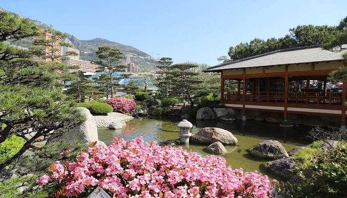 Japanese Garden Monaco View