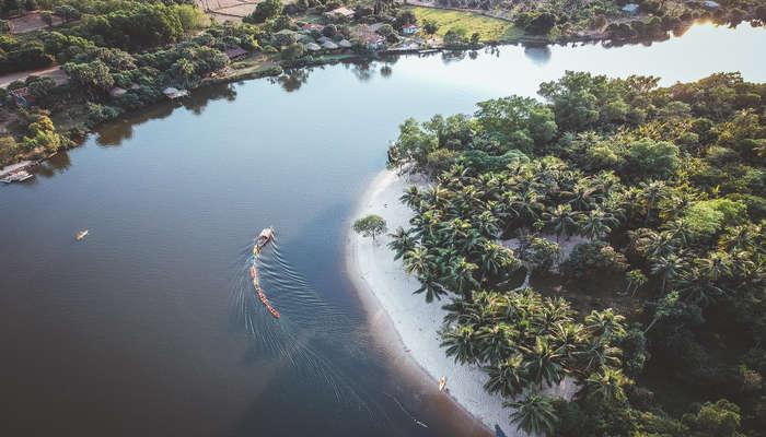 a small town in Cambodia