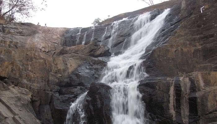 Kanthanpara Falls In Meppadi