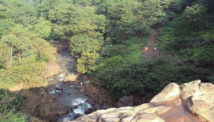 first waterfall from the Narmada river